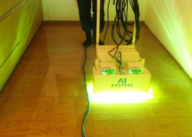 A1-2000による紫外線照射